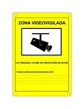 Placa CCTV homologada en castellano